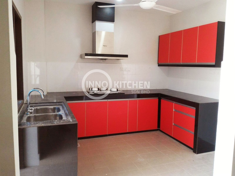 Kitchen Cabinet Melamine Kitchen Design Cabinet Design Kitchen Cabinet Malaysia